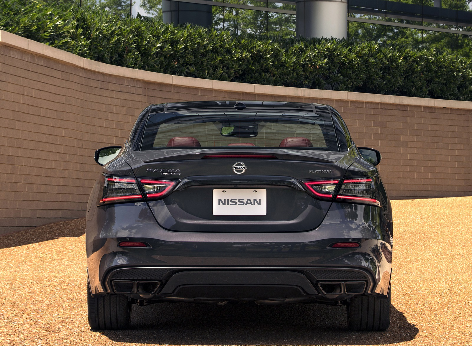 2021 Nissan Maxima 40th Anniversary Edition Rear Wallpapers (9)