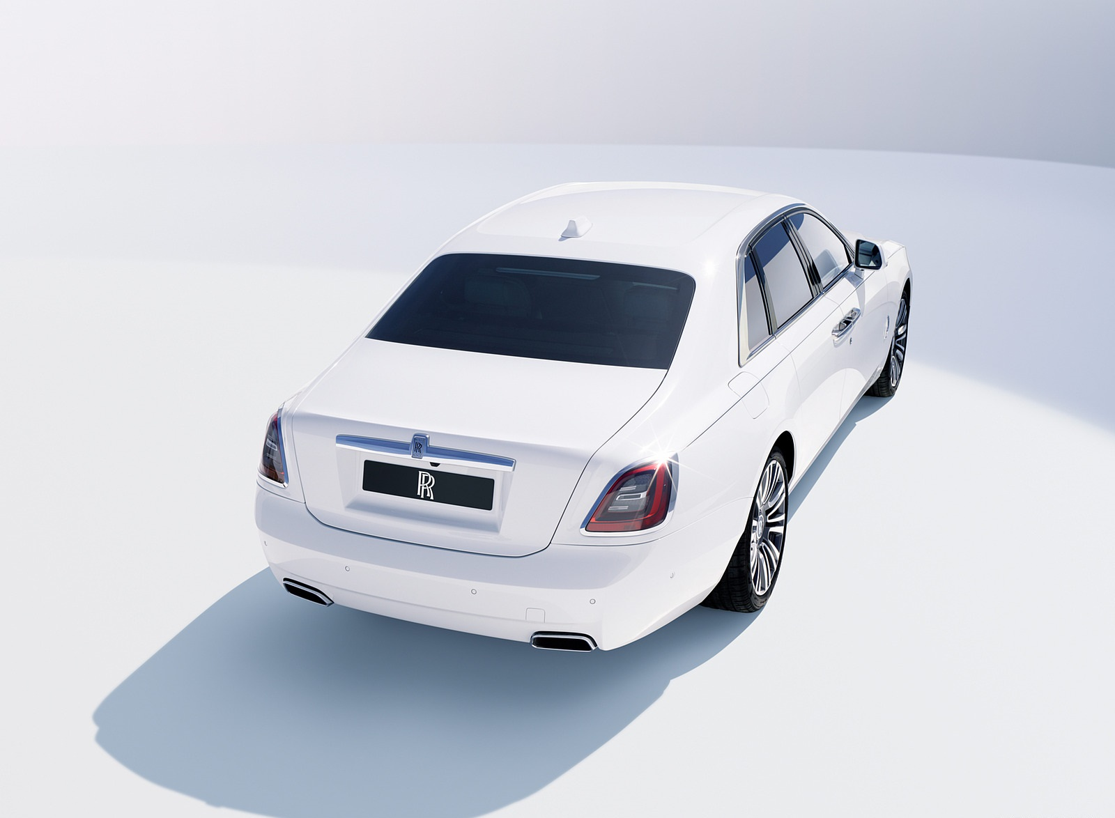 2021 Rolls-Royce Ghost Rear Three-Quarter Wallpapers (4)
