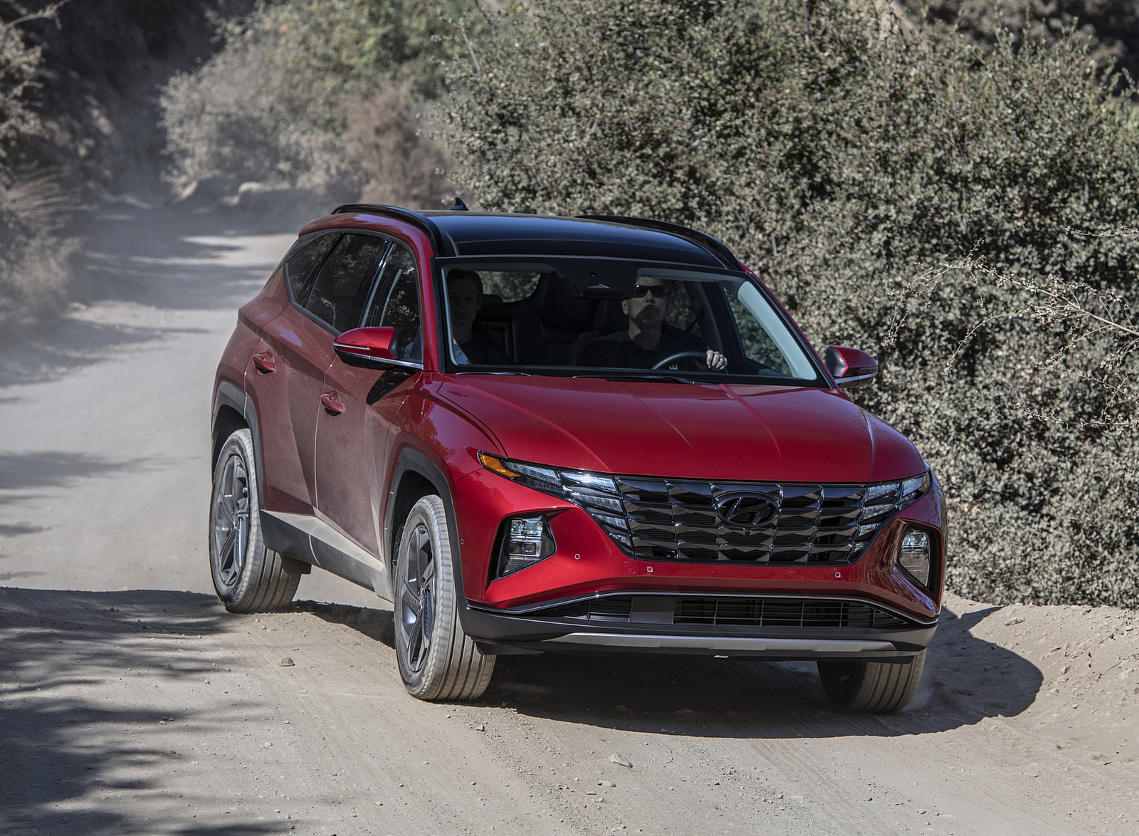 2022 Hyundai Tucson Front Three-Quarter Wallpapers  (6)