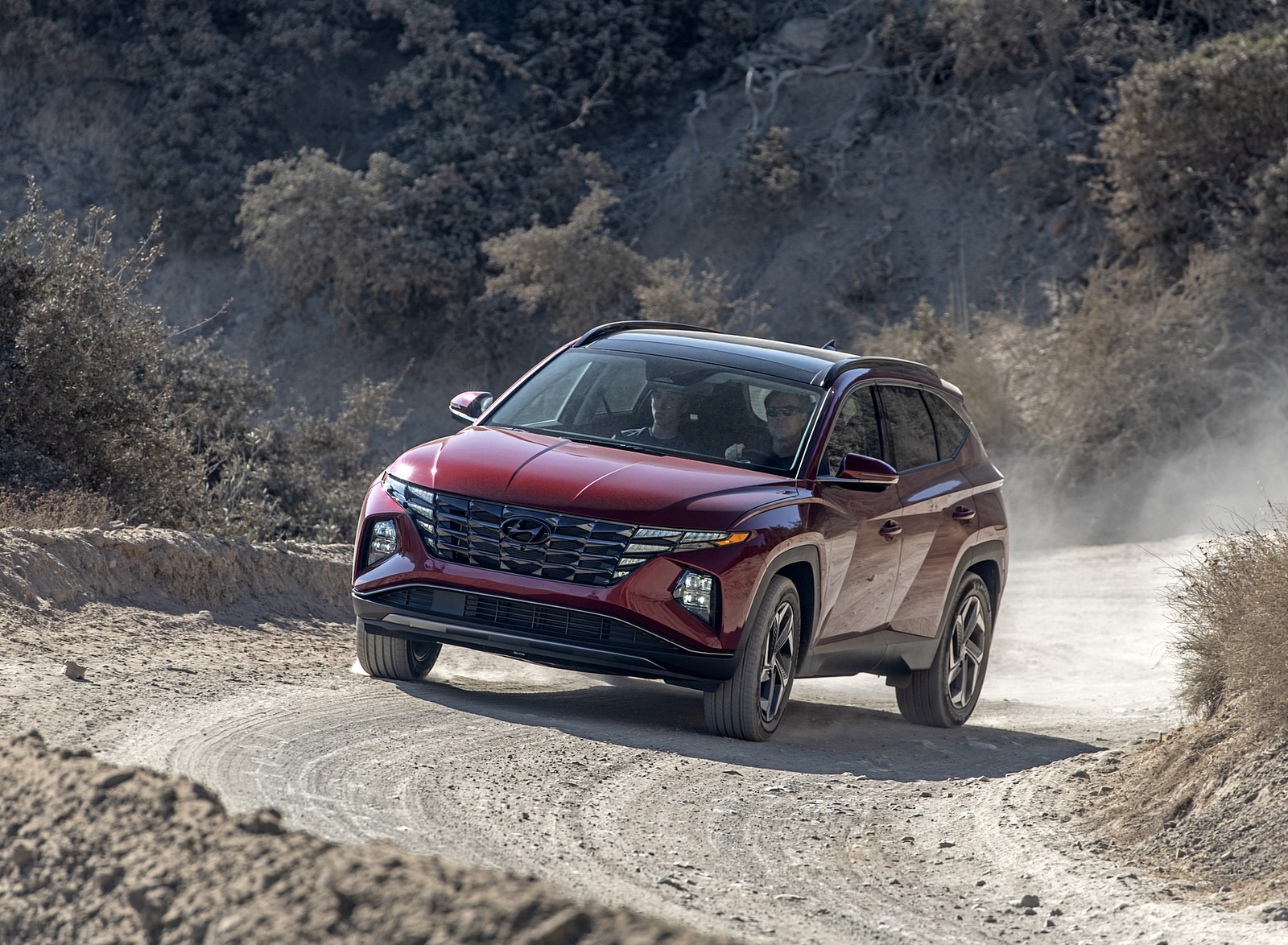 2022 Hyundai Tucson Front Three-Quarter Wallpapers  (7)