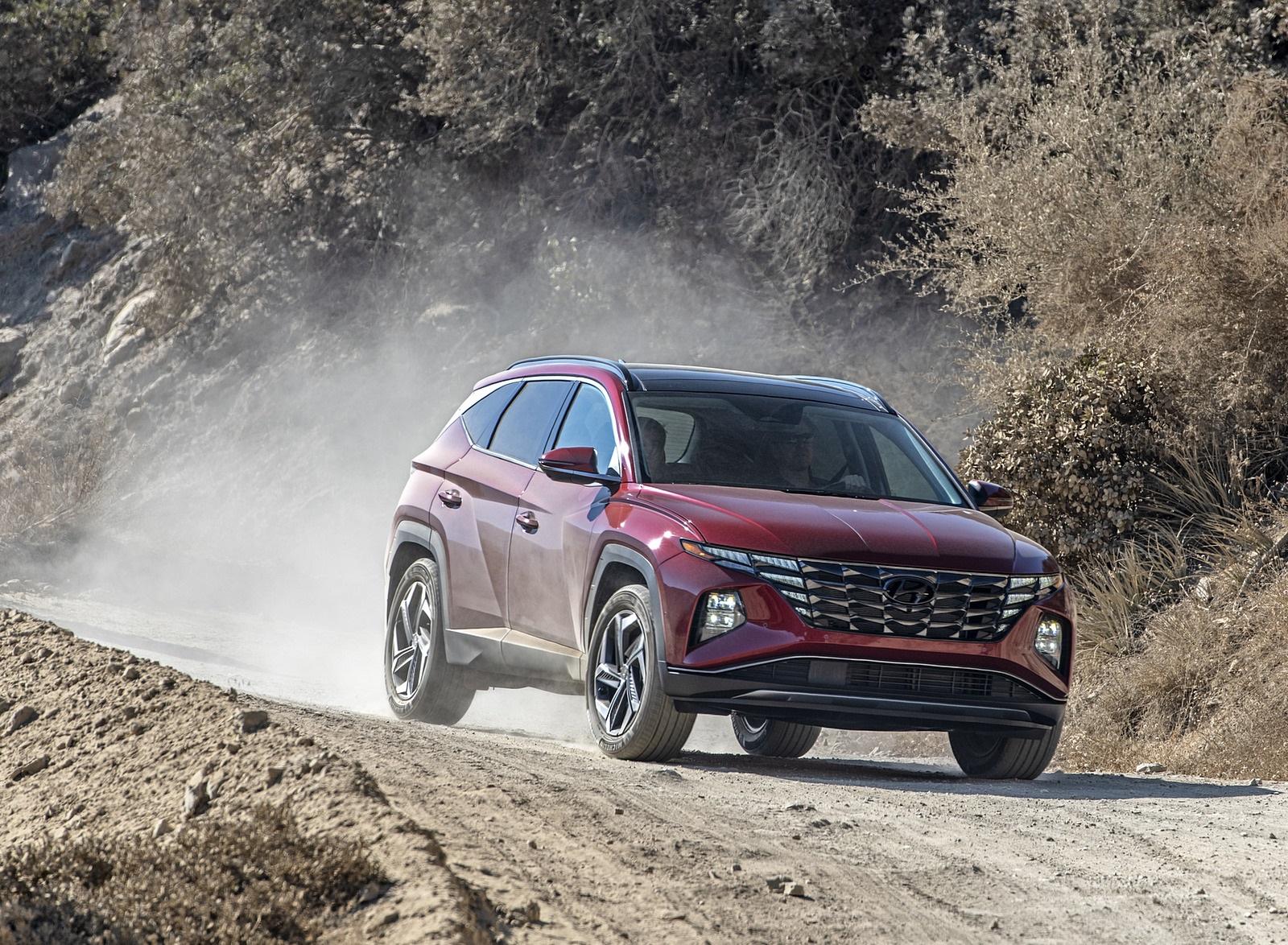2022 Hyundai Tucson Front Three-Quarter Wallpapers (8)