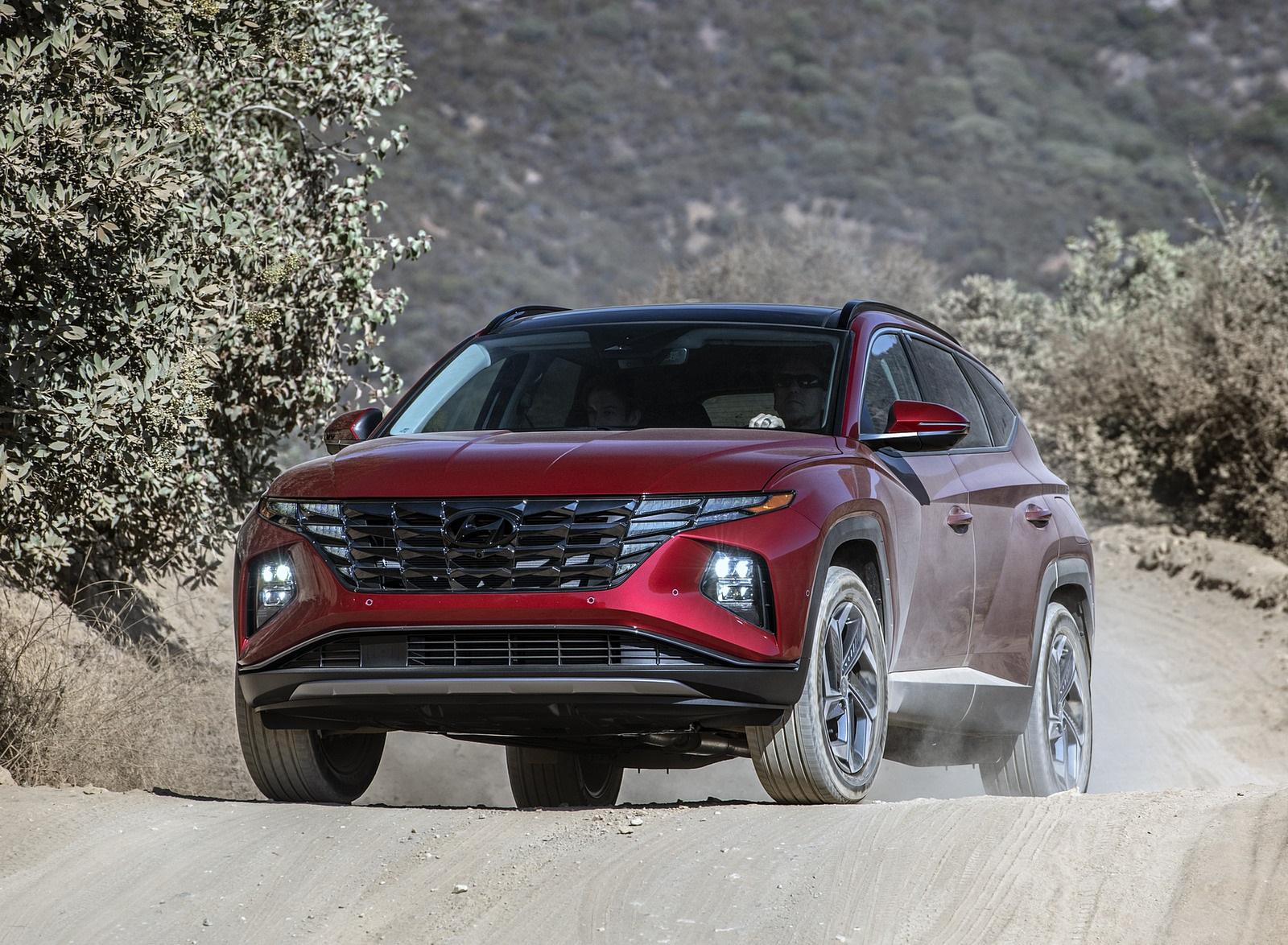 2022 Hyundai Tucson Front Wallpapers  (9)