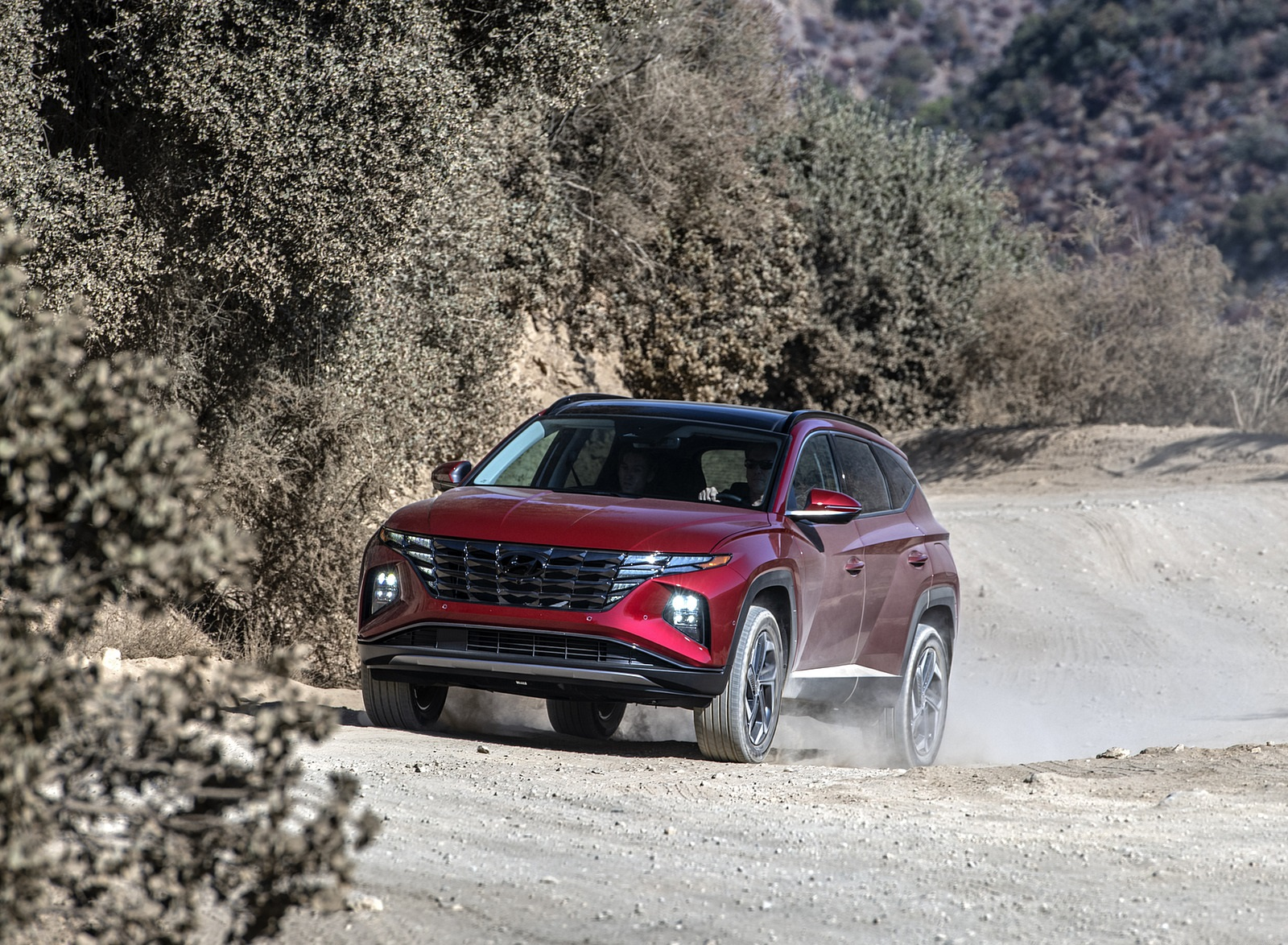 2022 Hyundai Tucson Front Wallpapers  (3)