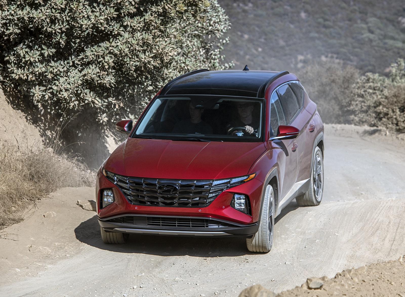 2022 Hyundai Tucson Front Wallpapers  (10)