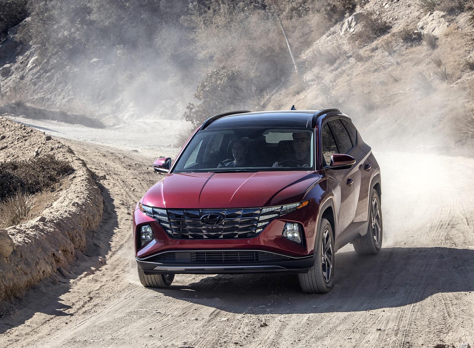 2022 Hyundai Tucson Front Wallpapers  (1)