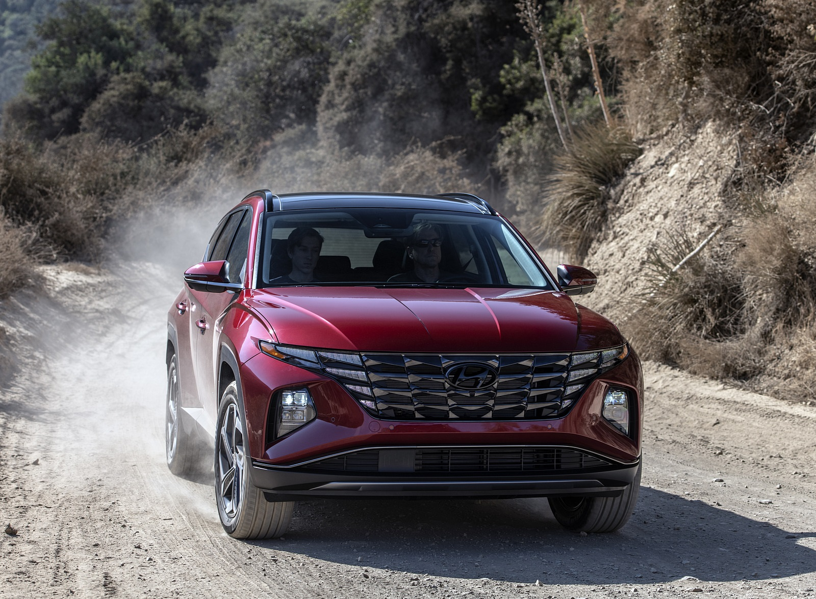 2022 Hyundai Tucson Front Wallpapers  (2)
