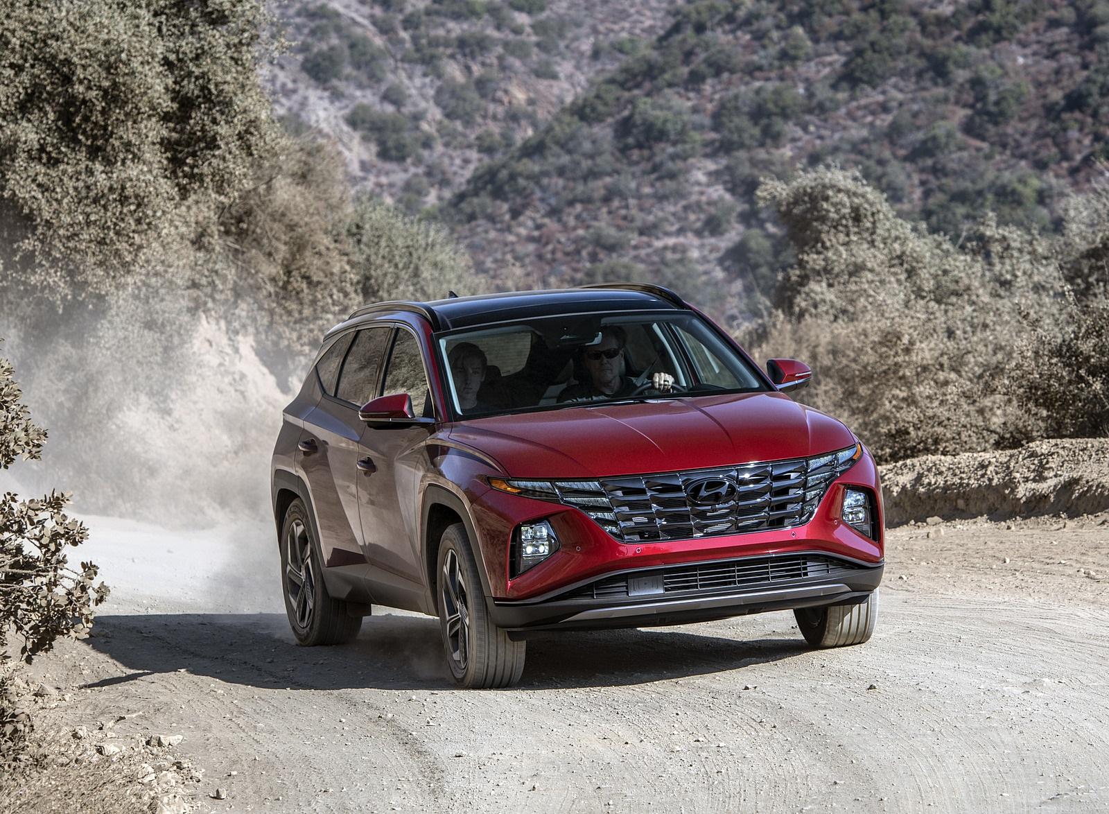 2022 Hyundai Tucson Front Wallpapers (4)