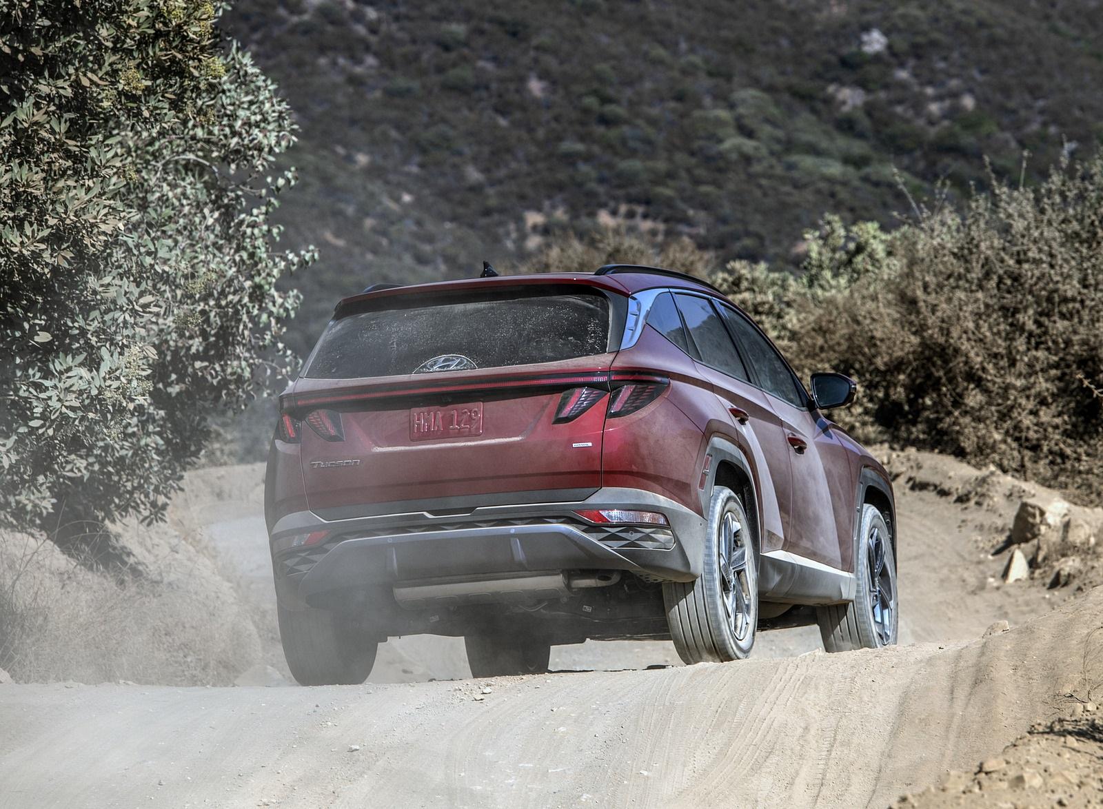 2022 Hyundai Tucson Rear Wallpapers (5)