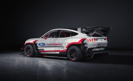 2020 Ford Mustang Mach-E 1400 Concept Rear Three-Quarter Wallpapers 450x275 (47)