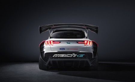 2020 Ford Mustang Mach-E 1400 Concept Rear Wallpapers 450x275 (50)