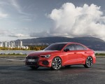 2021 Audi S3 Sedan (Color: Tango Red) Front Three-Quarter Wallpapers 150x120 (5)