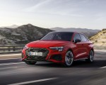 2021 Audi S3 Sedan (Color: Tango Red) Front Three-Quarter Wallpapers 150x120 (1)