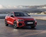 2021 Audi S3 Sedan (Color: Tango Red) Front Three-Quarter Wallpapers 150x120 (6)