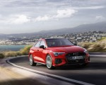 2021 Audi S3 Sedan (Color: Tango Red) Front Three-Quarter Wallpapers 150x120 (2)