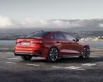 2021 Audi S3 Sedan (Color: Tango Red) Rear Three-Quarter Wallpapers 150x120 (9)