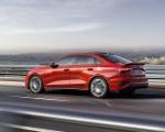 2021 Audi S3 Sedan (Color: Tango Red) Rear Three-Quarter Wallpapers 150x120 (3)