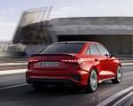 2021 Audi S3 Sedan (Color: Tango Red) Rear Three-Quarter Wallpapers 150x120 (4)
