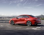 2021 Audi S3 Sedan (Color: Tango Red) Side Wallpapers 150x120 (12)