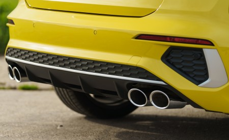 2021 Audi S3 Sportback (UK-Spec) Exhaust Wallpapers  450x275 (84)