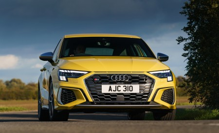 2021 Audi S3 Sportback (UK-Spec) Front Wallpapers  450x275 (9)