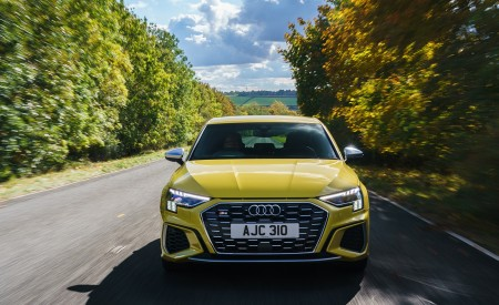 2021 Audi S3 Sportback (UK-Spec) Front Wallpapers 450x275 (16)