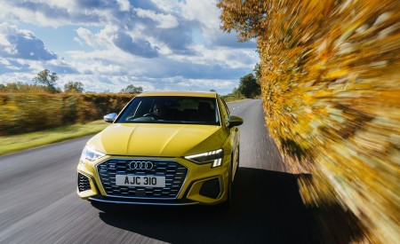 2021 Audi S3 Sportback (UK-Spec) Front Wallpapers 450x275 (1)