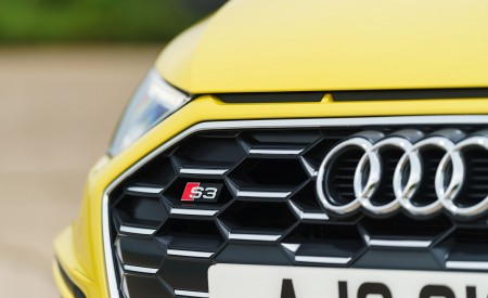 2021 Audi S3 Sportback (UK-Spec) Grill Wallpapers  450x275 (53)
