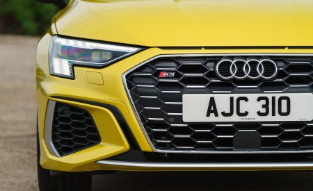 2021 Audi S3 Sportback (UK-Spec) Grill Wallpapers  450x275 (68)