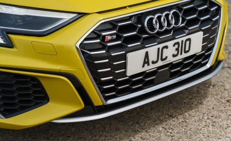 2021 Audi S3 Sportback (UK-Spec) Grill Wallpapers  450x275 (55)