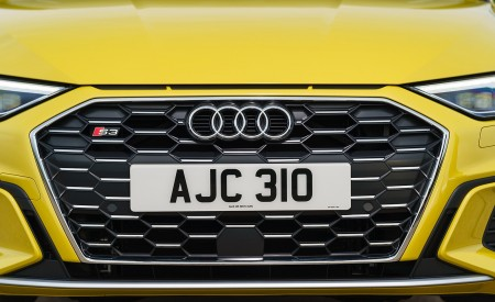 2021 Audi S3 Sportback (UK-Spec) Grill Wallpapers 450x275 (65)