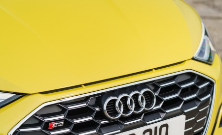 2021 Audi S3 Sportback (UK-Spec) Grill Wallpapers  450x275 (66)