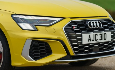 2021 Audi S3 Sportback (UK-Spec) Headlight Wallpapers  450x275 (59)