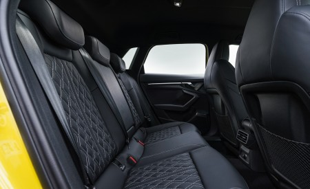 2021 Audi S3 Sportback (UK-Spec) Interior Rear Seats Wallpapers 450x275 (92)