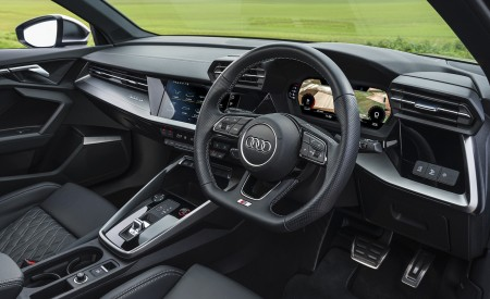 2021 Audi S3 Sportback (UK-Spec) Interior Steering Wheel Wallpapers 450x275 (93)