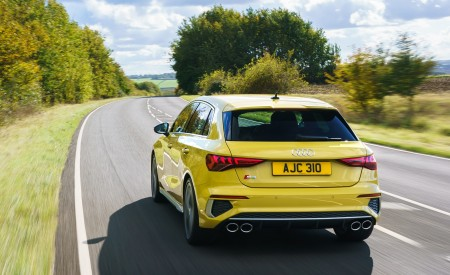 2021 Audi S3 Sportback (UK-Spec) Rear Wallpapers  450x275 (17)