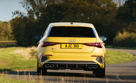 2021 Audi S3 Sportback (UK-Spec) Rear Wallpapers  450x275 (18)