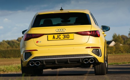 2021 Audi S3 Sportback (UK-Spec) Rear Wallpapers  450x275 (19)