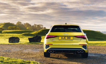 2021 Audi S3 Sportback (UK-Spec) Rear Wallpapers 450x275 (50)