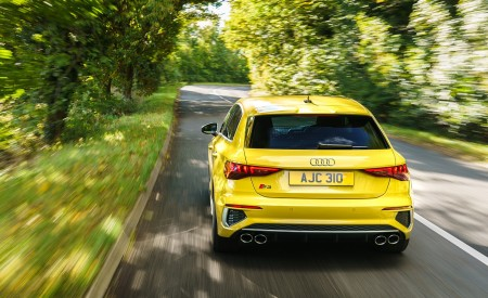 2021 Audi S3 Sportback (UK-Spec) Rear Wallpapers  450x275 (20)