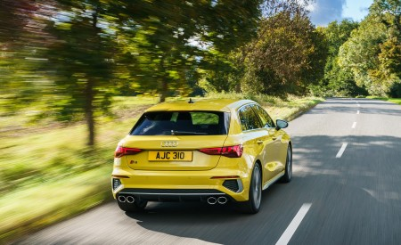 2021 Audi S3 Sportback (UK-Spec) Rear Wallpapers  450x275 (21)