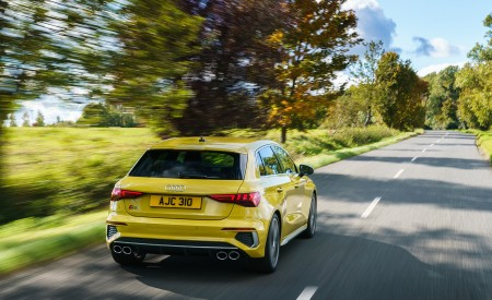 2021 Audi S3 Sportback (UK-Spec) Rear Wallpapers  450x275 (22)
