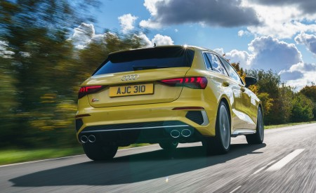 2021 Audi S3 Sportback (UK-Spec) Rear Wallpapers  450x275 (23)