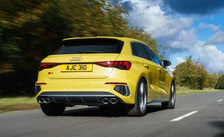 2021 Audi S3 Sportback (UK-Spec) Rear Wallpapers  450x275 (24)