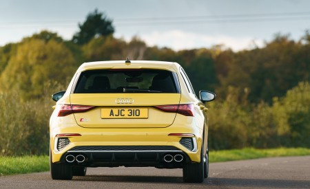 2021 Audi S3 Sportback (UK-Spec) Rear Wallpapers 450x275 (25)