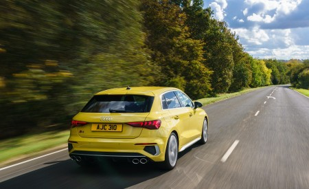 2021 Audi S3 Sportback (UK-Spec) Rear Wallpapers 450x275 (14)