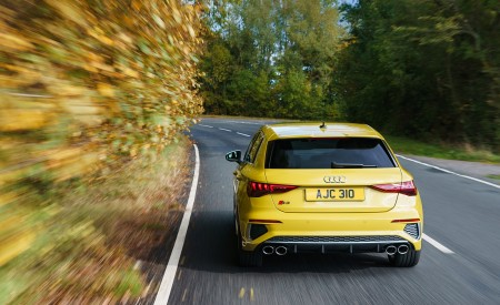 2021 Audi S3 Sportback (UK-Spec) Rear Wallpapers 450x275 (7)