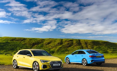 2021 Audi S3 Sportback (UK-Spec) and S3 Sedan Wallpapers 450x275 (42)