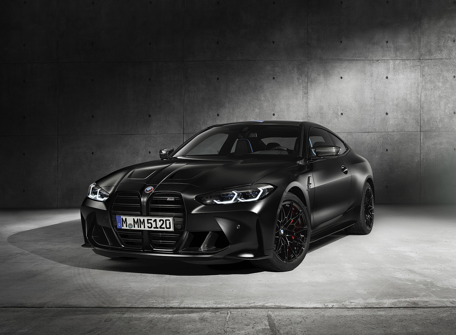 2021 BMW M4 Competition x KITH Front Wallpapers (2)