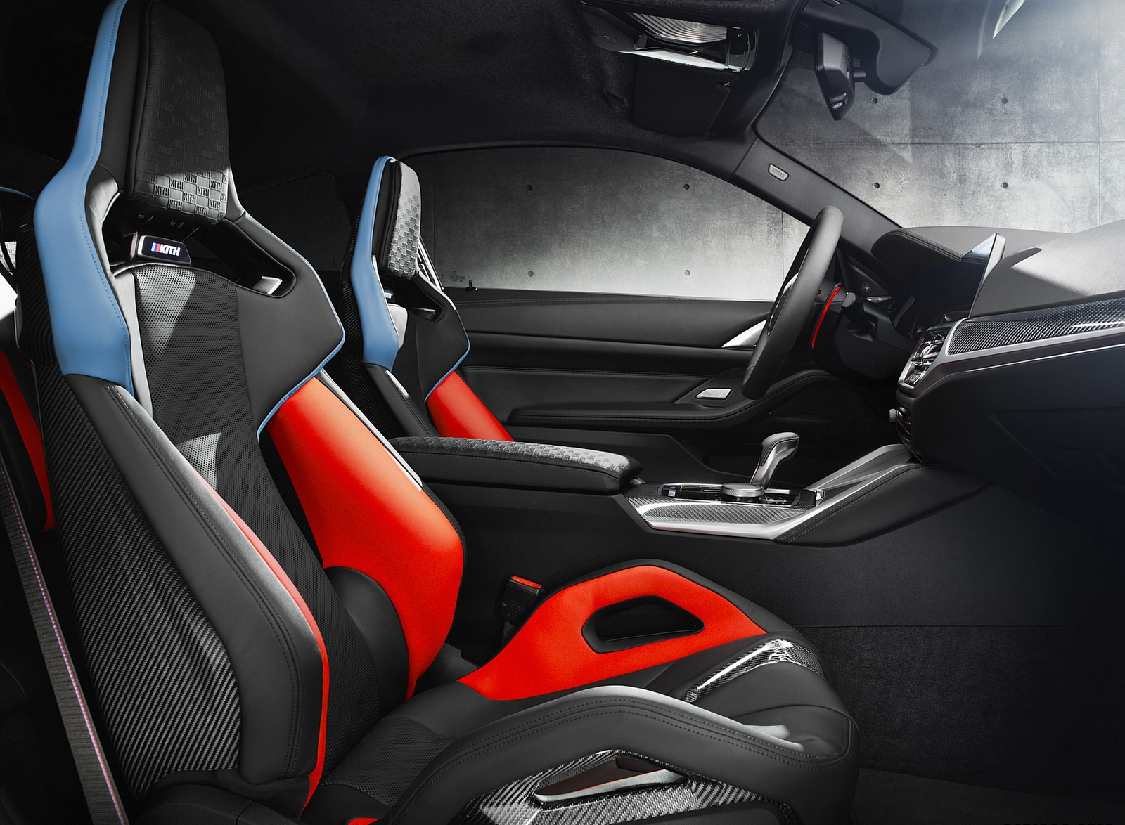 2021 BMW M4 Competition x KITH Interior Wallpapers (9)