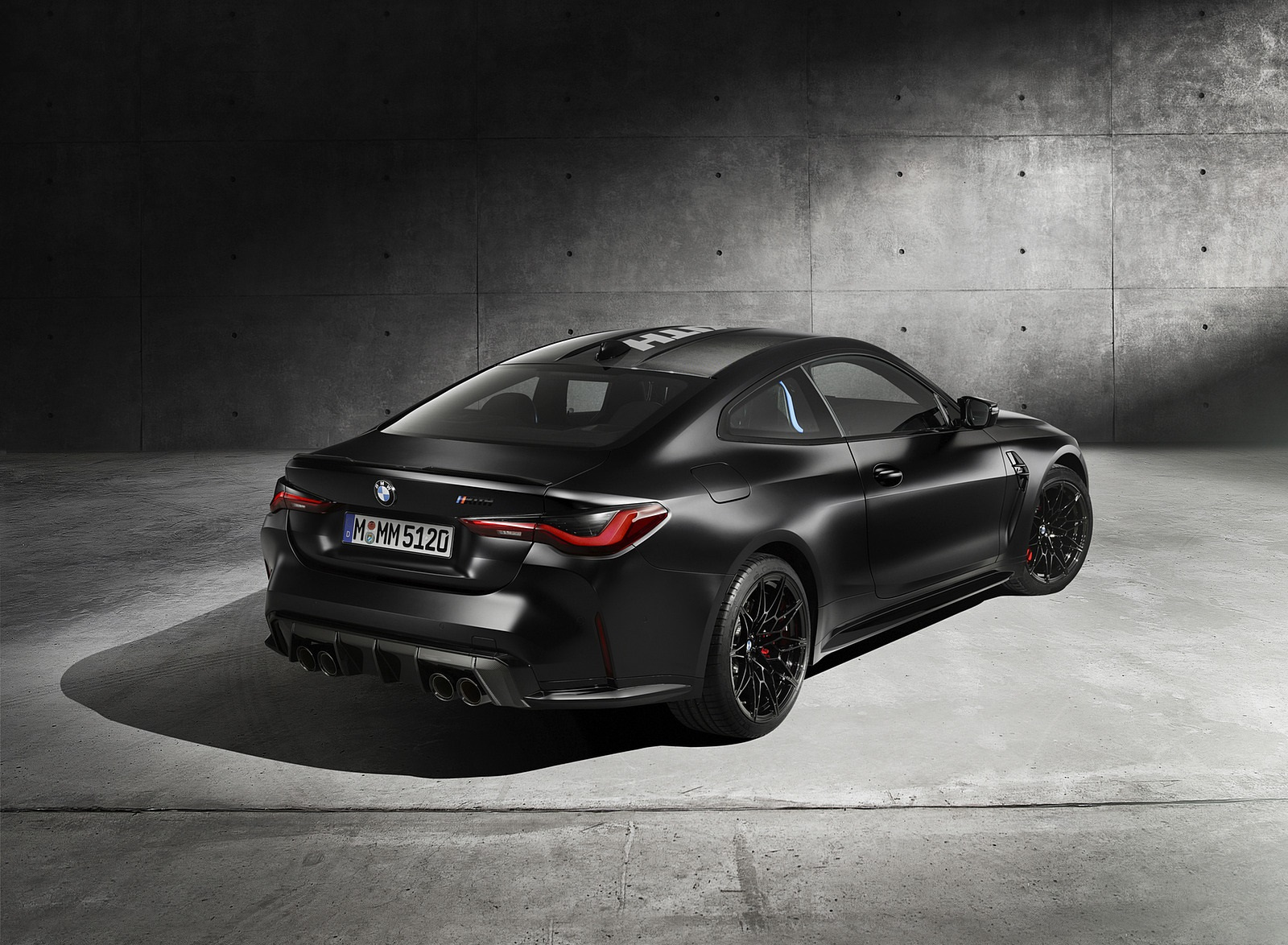 2021 BMW M4 Competition x KITH Rear Three-Quarter Wallpapers (3)